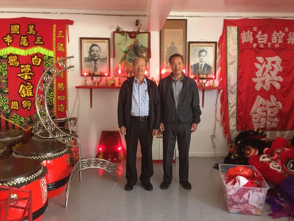 Leung Kwan & Daniel Wong